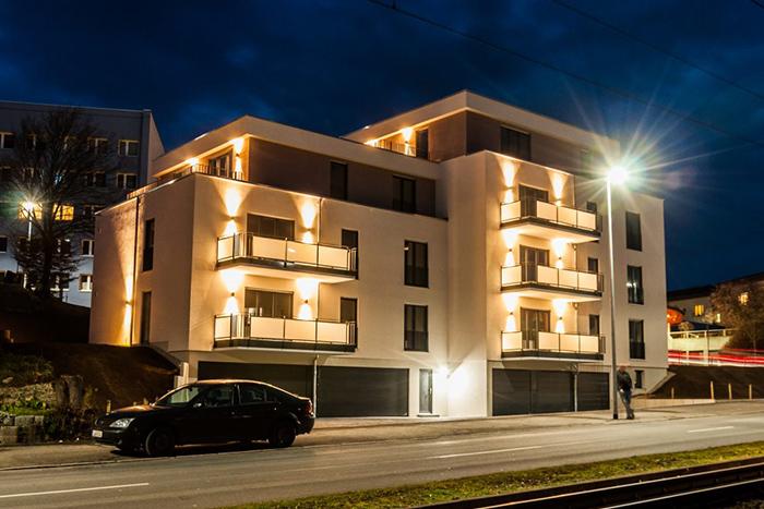Neubau Mehrfamilienhaus mit 7 Wohneinheiten und Tiefgarage in Jena