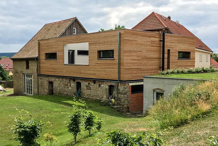 Umbau Scheune zu Wohnhaus in Ottstedt