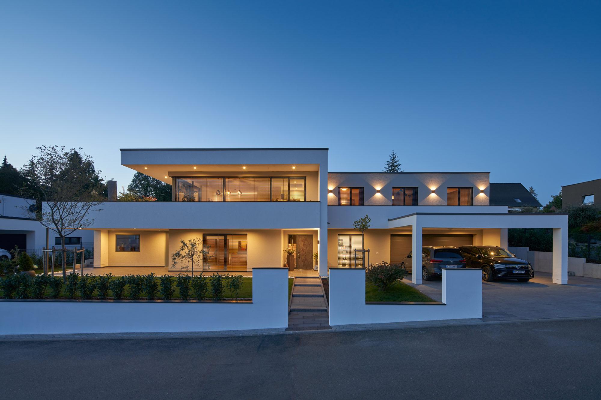 Neubau Einfamilienhaus inklusive Büroeinheit